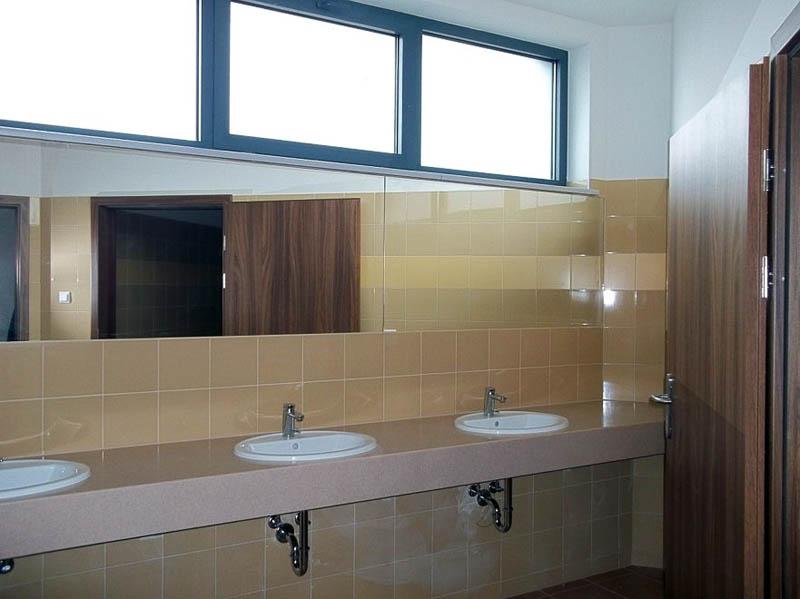 Przykładowa łazienka w budynku WFAIS UJ
