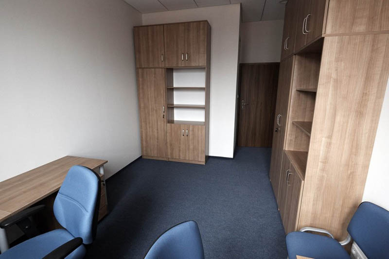 Przykładowy pokój pracy cichej (jednoosobowy)